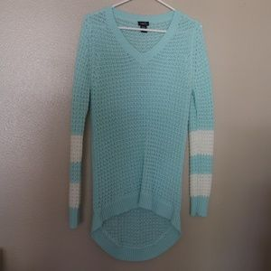 Rue21 Teal Oversized Sweater SMALL